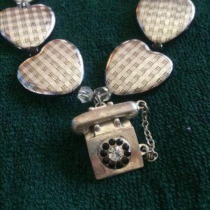 Vintage Phone Necklace Set